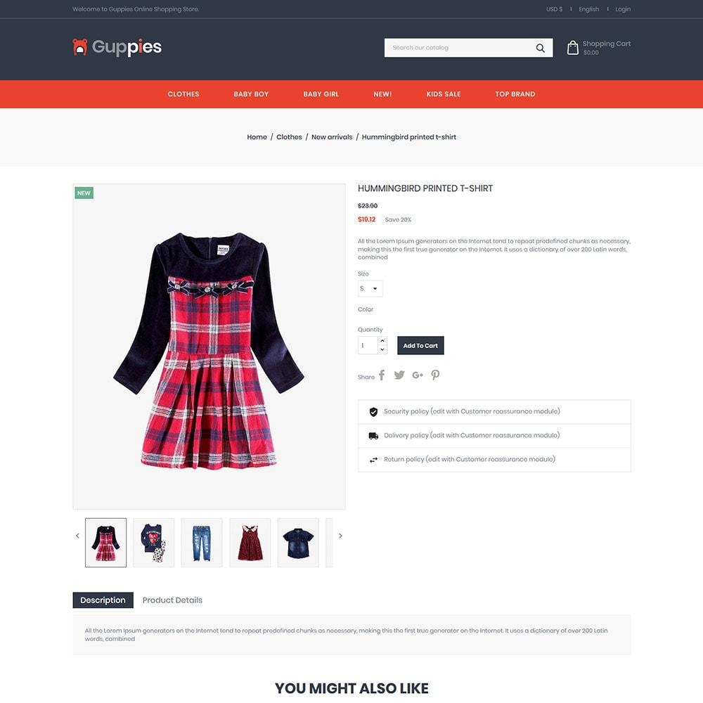 theme - Kids & Toys - Baby Cloth - Girls Fashion Designer Store - 4