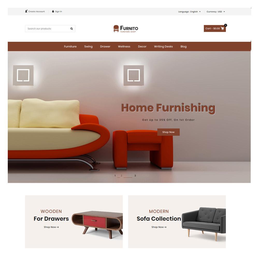 theme - Home & Garden - Furnito Furniture & Home Shop - 2