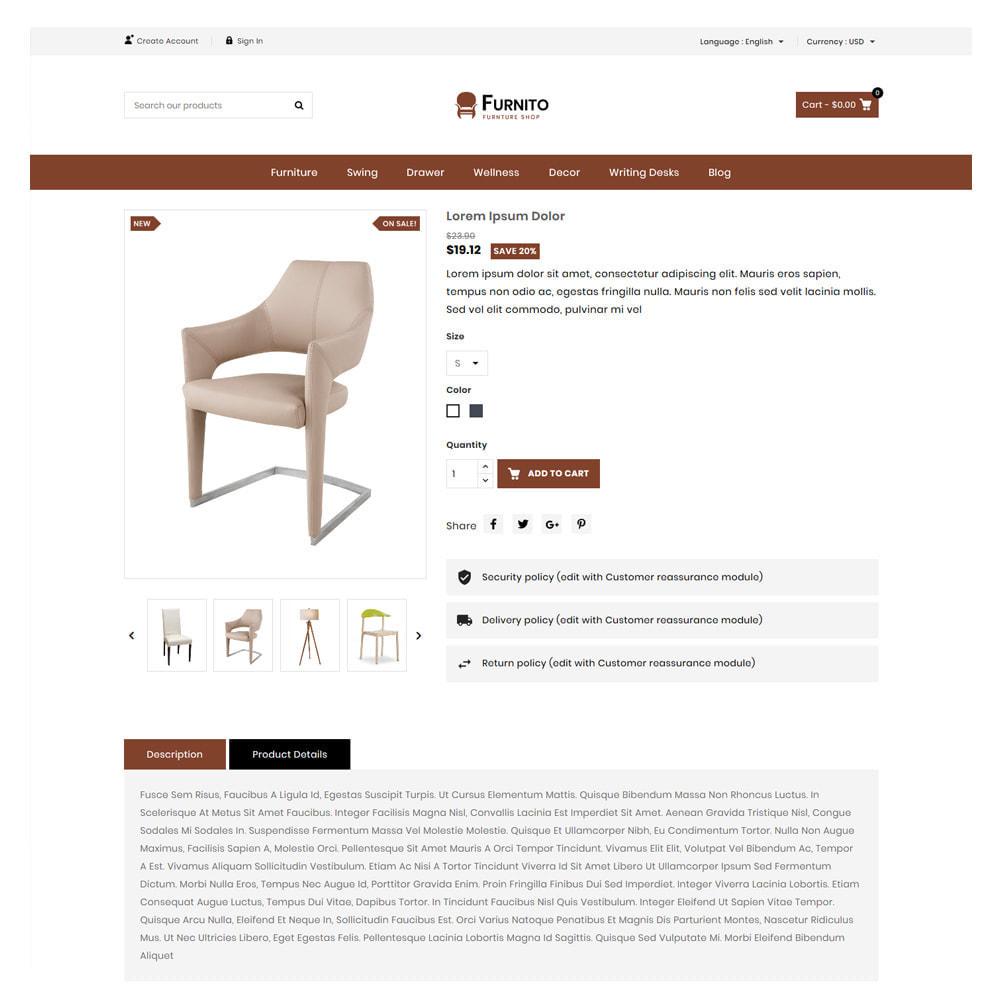 theme - Home & Garden - Furnito Furniture & Home Shop - 5