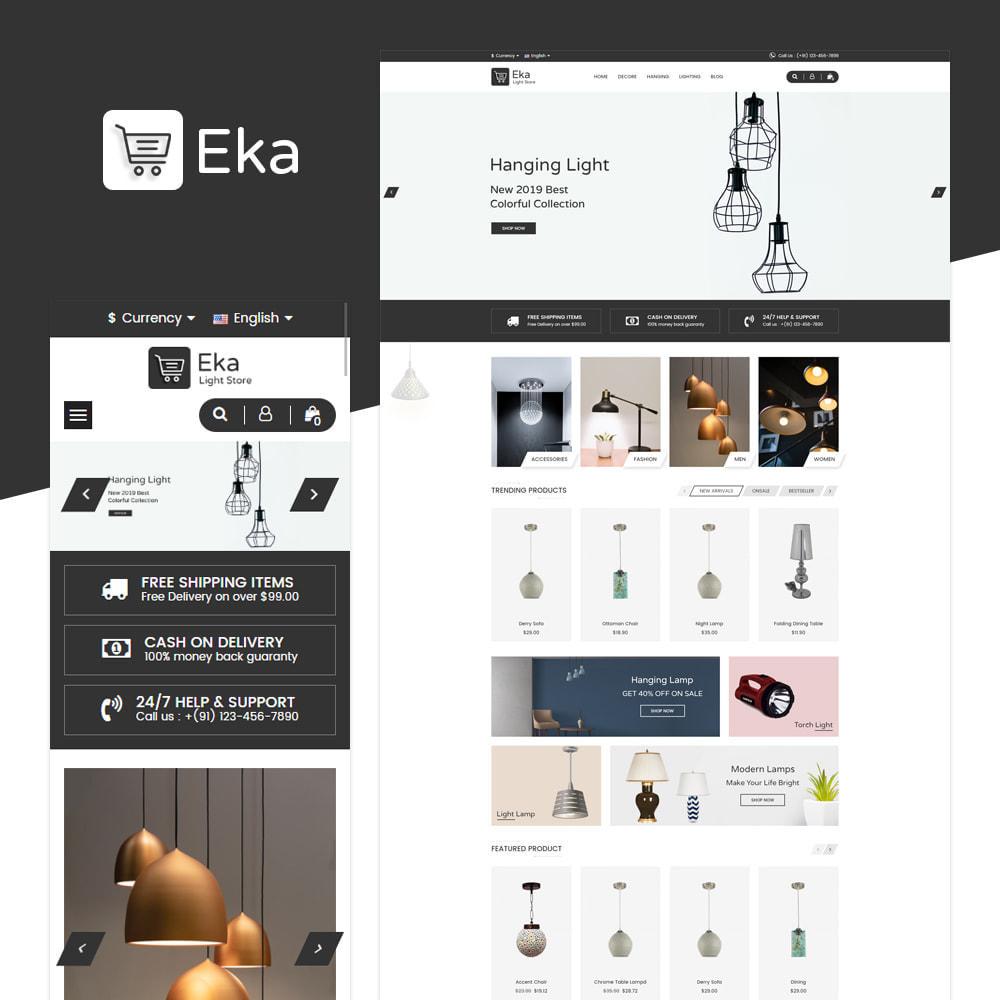 theme - Electrónica e High Tech - Eka - Tienda de luz - 1