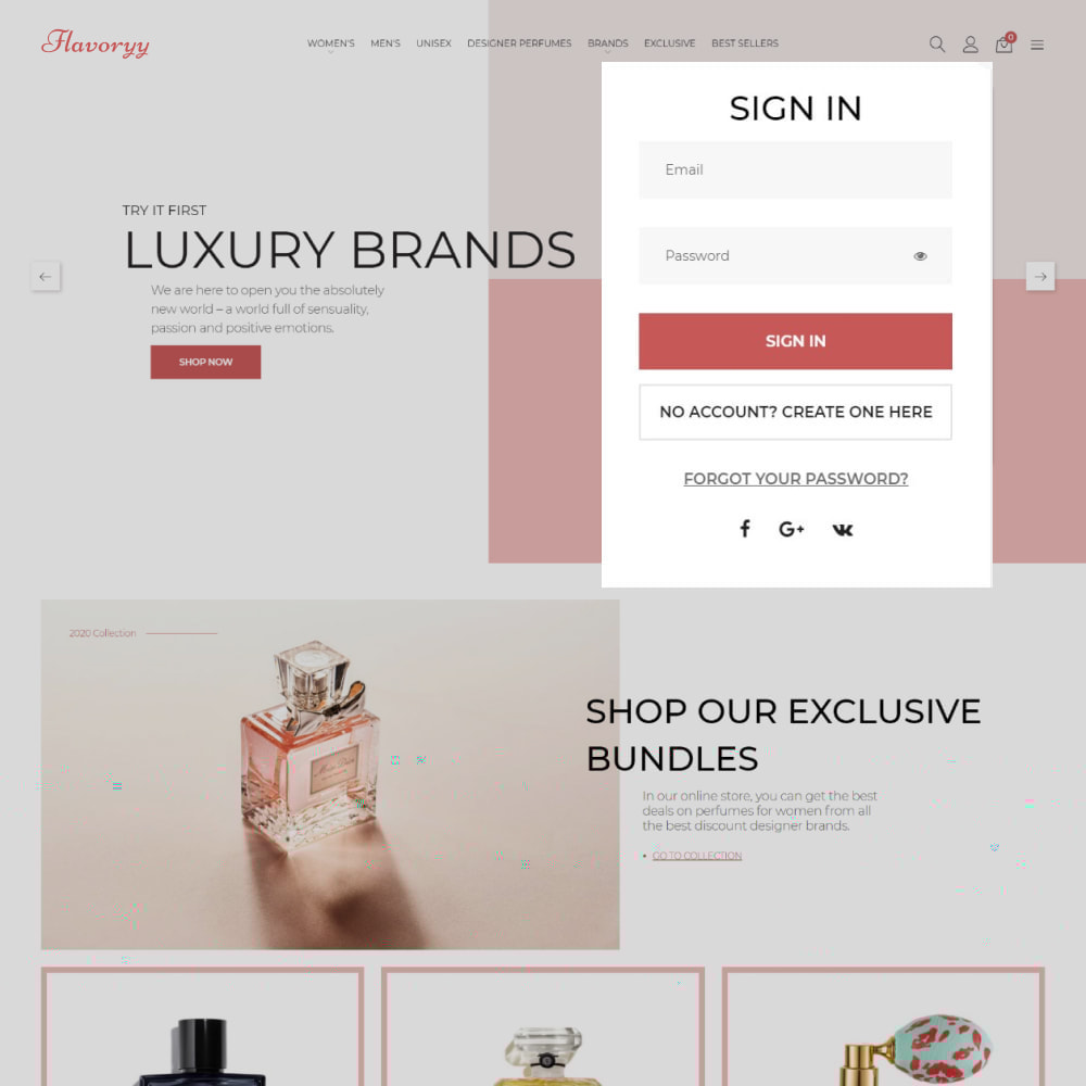 theme - Здоровье и красота - Flavoryy - Perfume Shop - 3