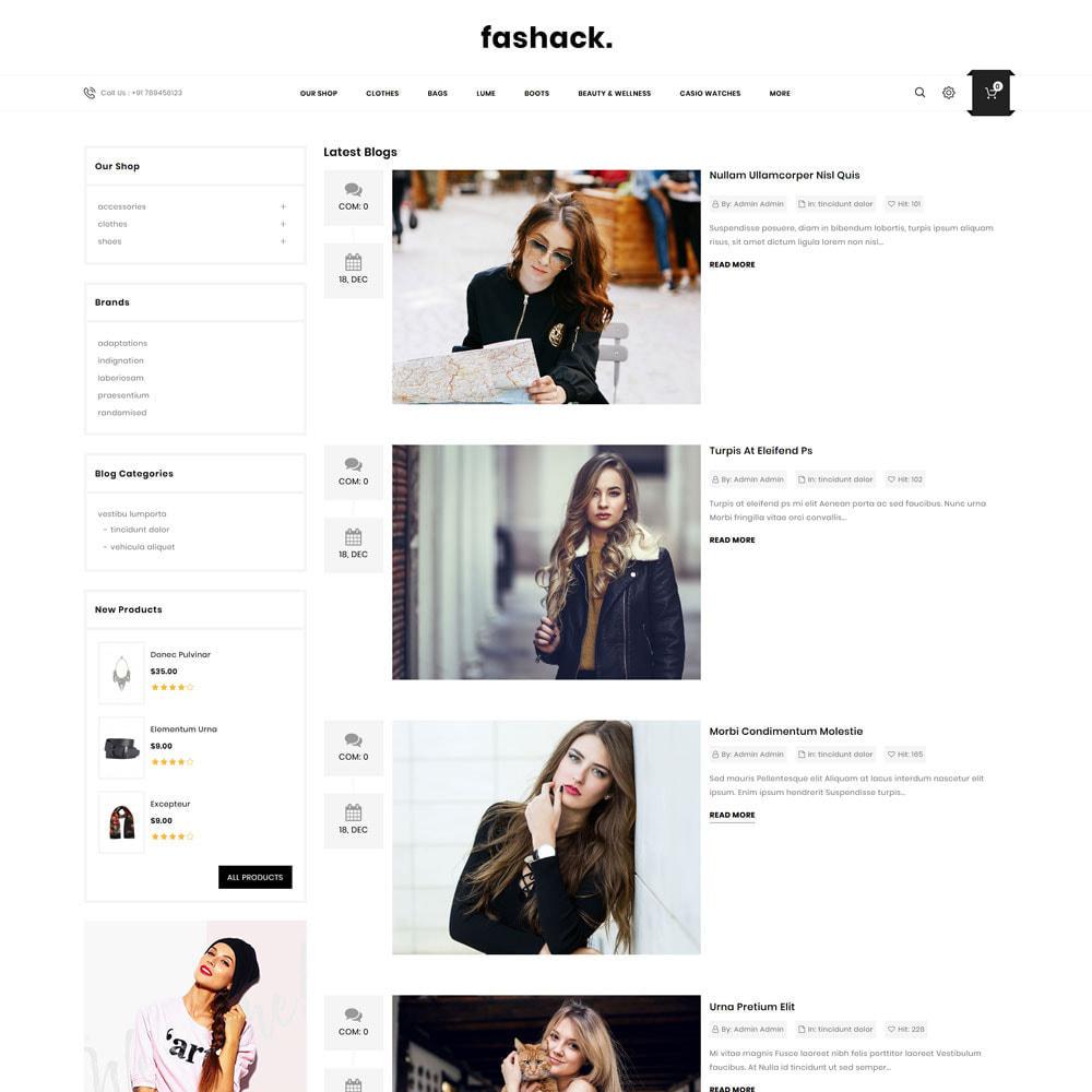 theme - Moda y Calzado - Fashack - La tienda de moda - 8