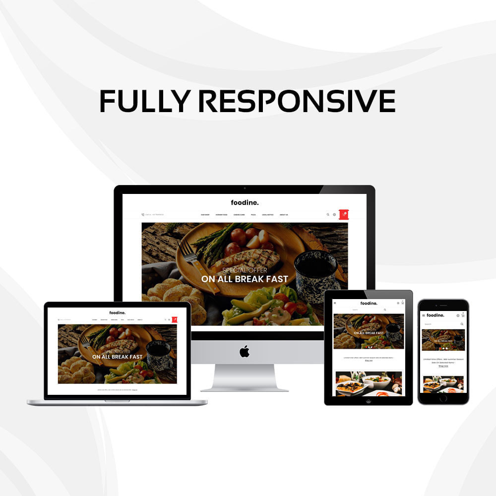 theme - Alimentos & Restaurantes - Foodine - The Mega Food Shop - 2