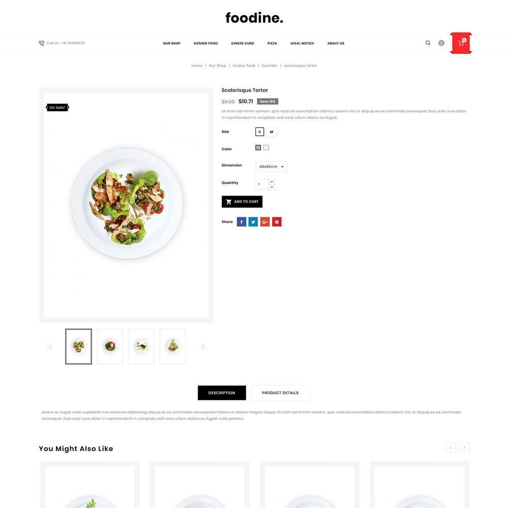 theme - Gastronomía y Restauración - Foodine - La tienda Mega Food - 7