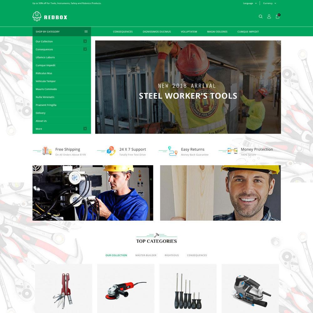 theme - Automotive & Cars - Redbox - The Tool Store - 3