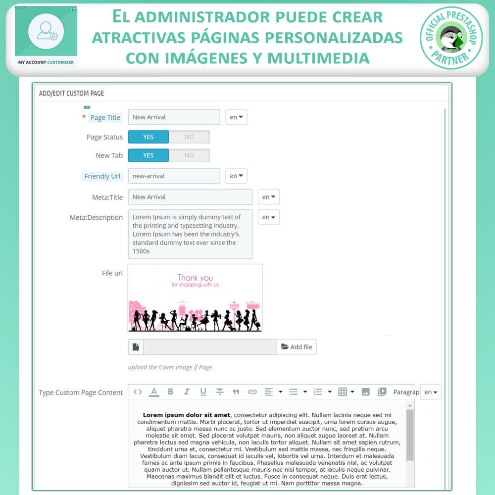 module - Herramientas Administrativas - Personalizador De Mi Cuenta - 6