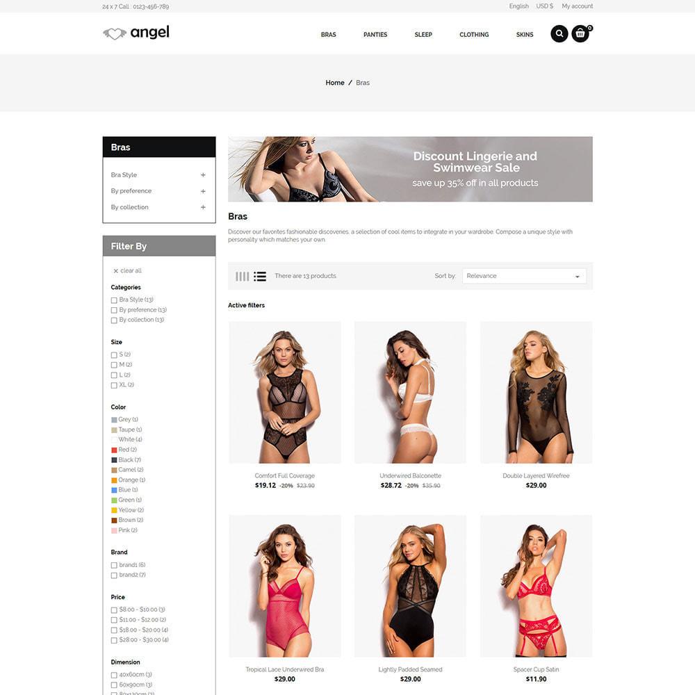 theme - Lingerie & Adult - Angle Bra  - Panties Women Underwear Adult Store - 3