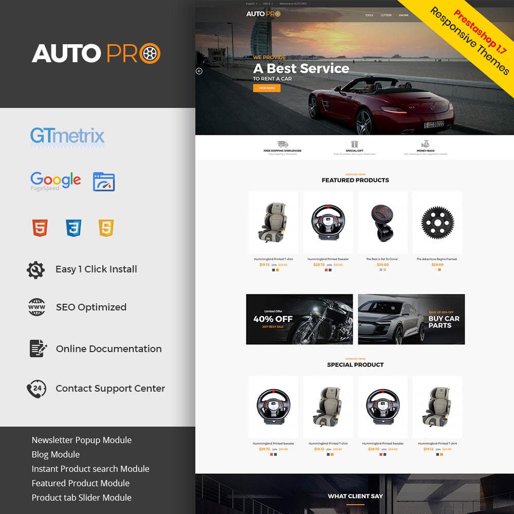 theme - Automotive & Cars - Auto Car - Tool Motor Spare Wheel Store - 1
