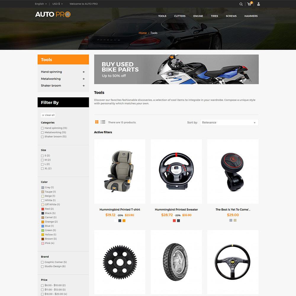 theme - Automotive & Cars - Auto Car - Tool Motor Spare Wheel Store - 3
