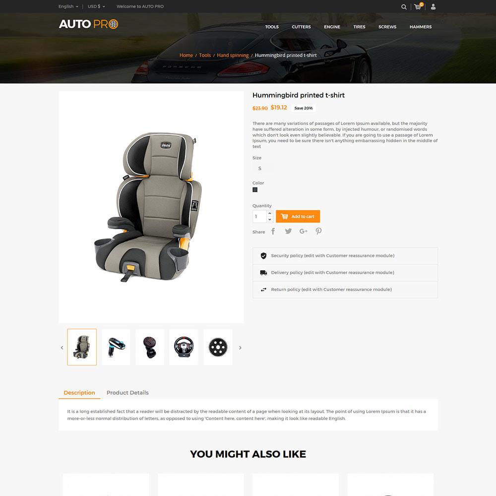theme - Automotive & Cars - Auto Car - Tool Motor Spare Wheel Store - 5