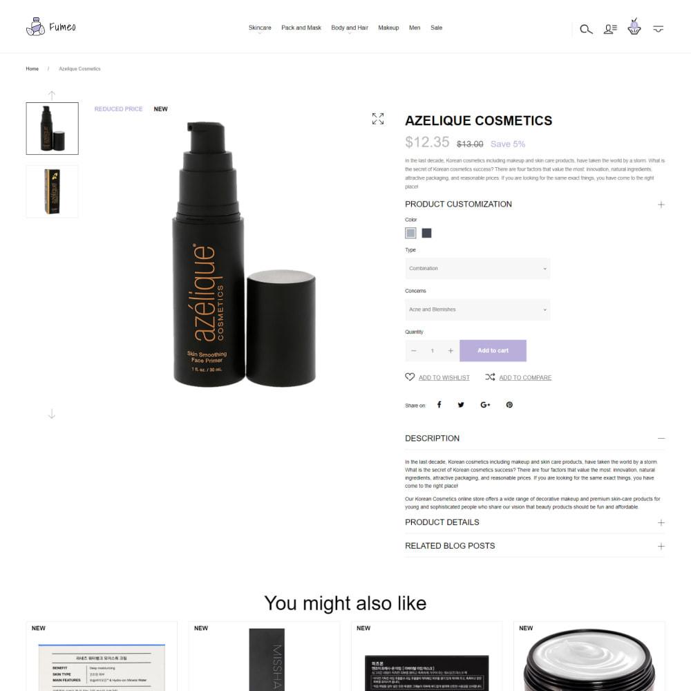 theme - Salud y Belleza - Fumeo - Korean Beauty Store - 4
