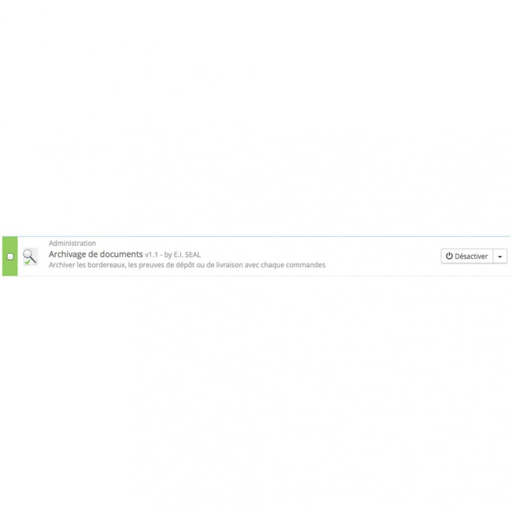 module - Order Management - Document Archiving / ArchivDocs - 3