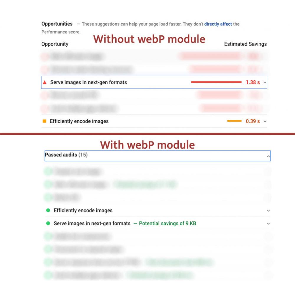 module - Website performantie - WEBP Compress and Convert to next gen images - 3