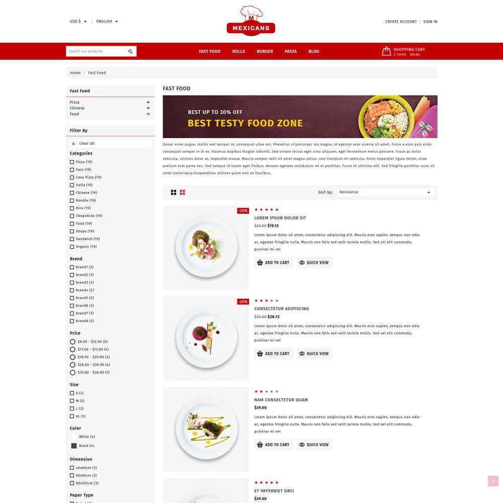 theme - Cibo & Ristorazione - Maxicans Food & Restaurant Shop - 5
