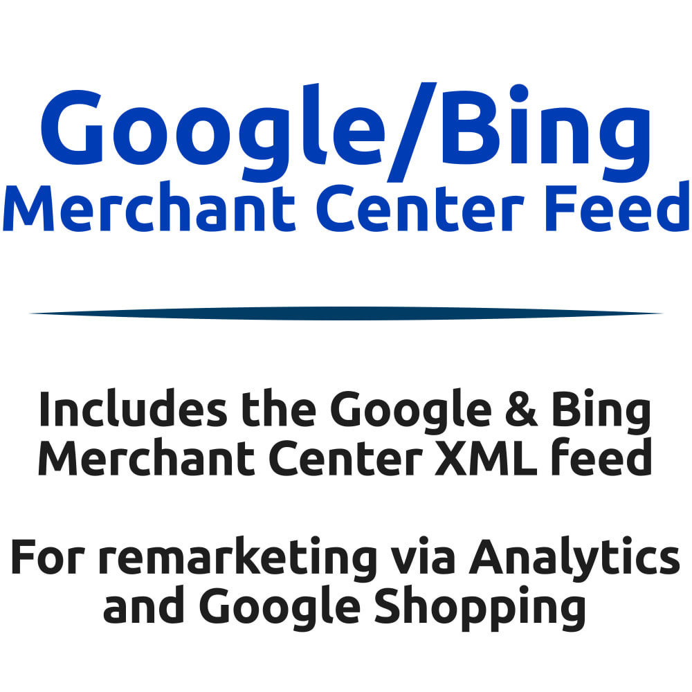 module - SEA SEM (Bezahlte Werbung) & Affiliate Plattformen - Google/Bing Merchant Center XML Product Feed - 1