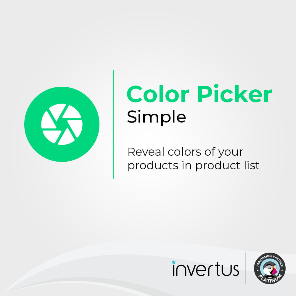 module - Versies & Personalisering van producten - Color Picker Simple - 1