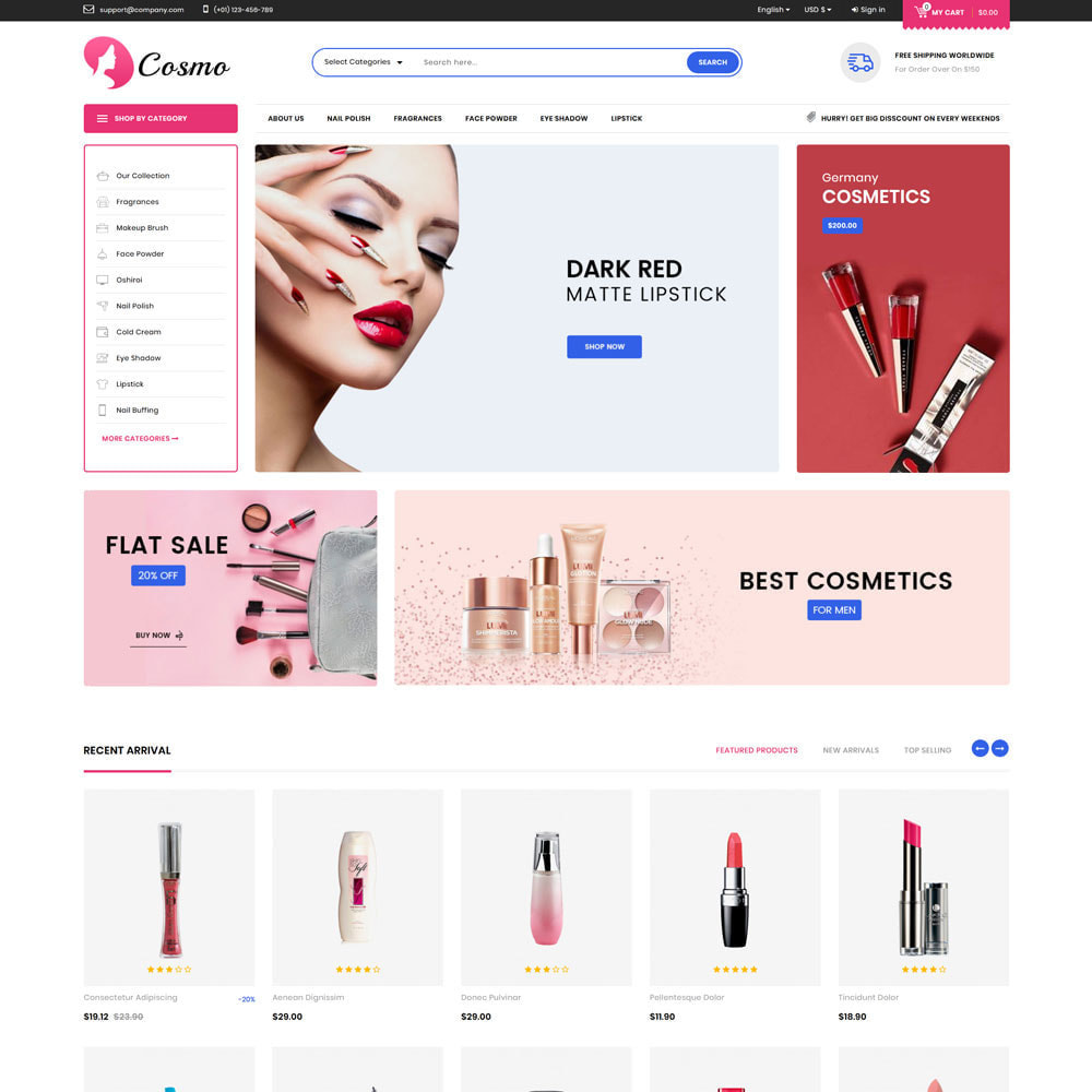 theme - Health & Beauty - Cosmo - The Mega Cosmetic Store - 3