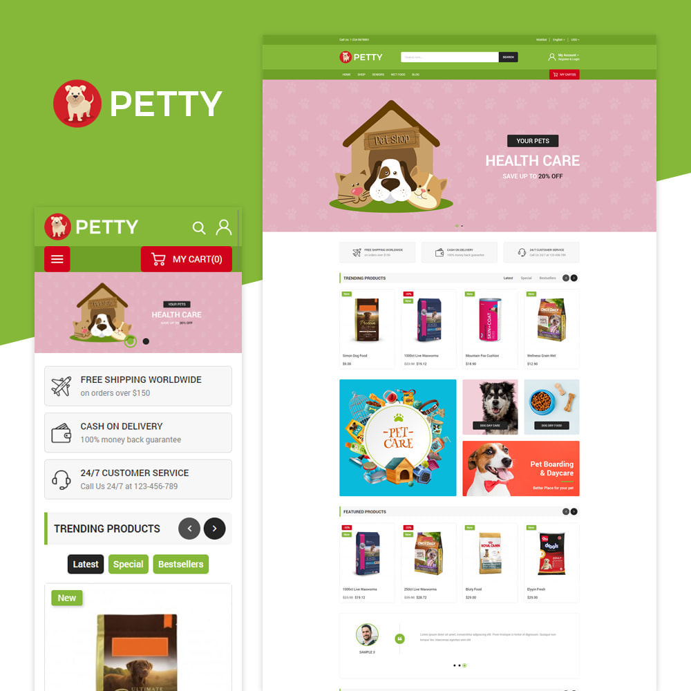 theme - Animals & Pets - Petty Store - 1