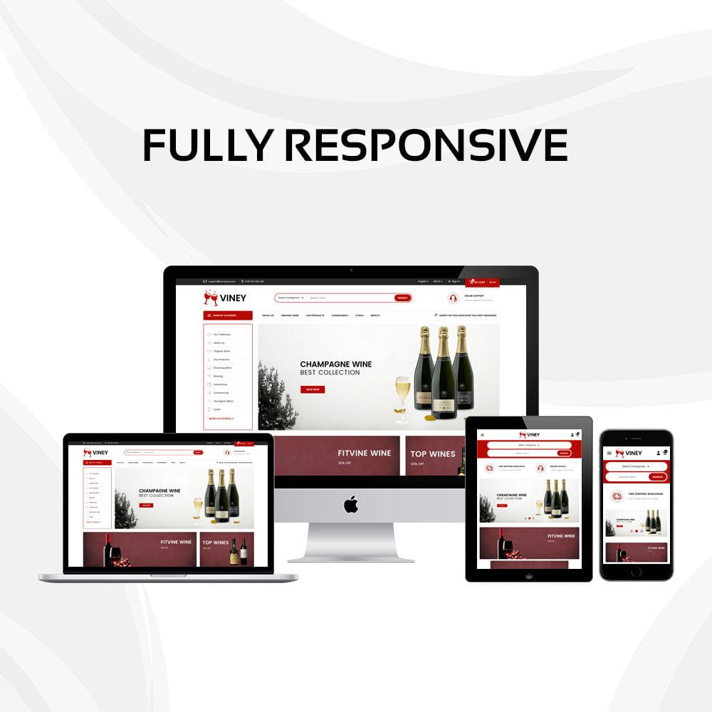 theme - Food & Restaurant - Viney - The Mega Wine Shop - 2