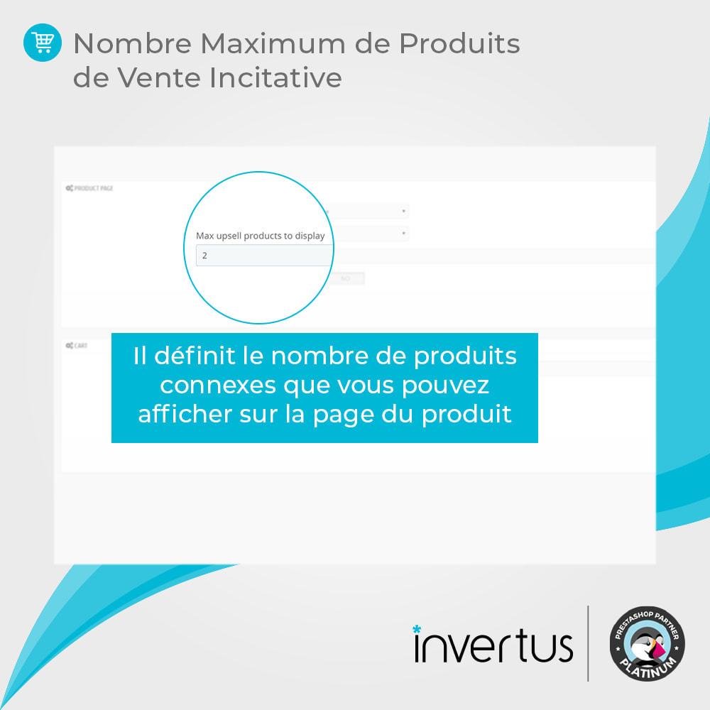 module - Ventes croisées & Packs de produits - Vente Incitative Intelligente - 9
