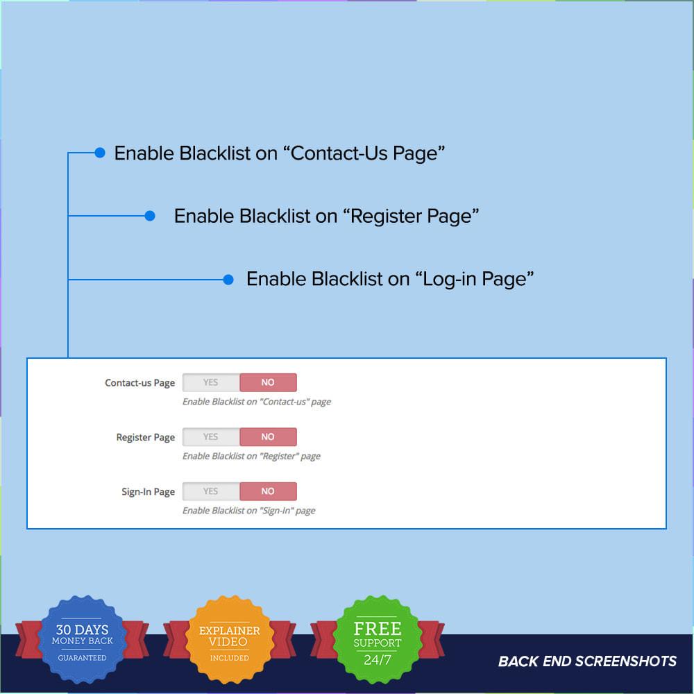 module - Seguridad y Accesos - reCAPTCHA PRO - Simple - Seguro - 9