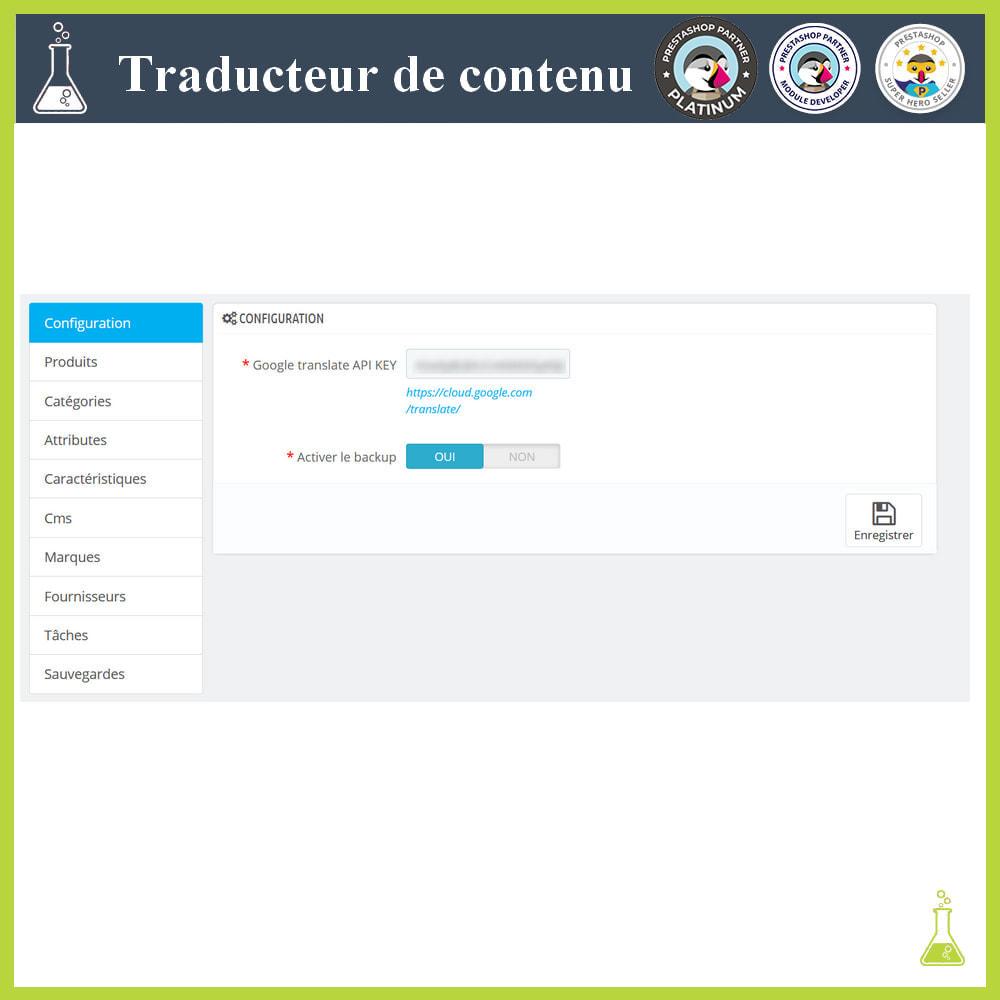 module - International & Localisation - Traducteur de contenu avancé - 1