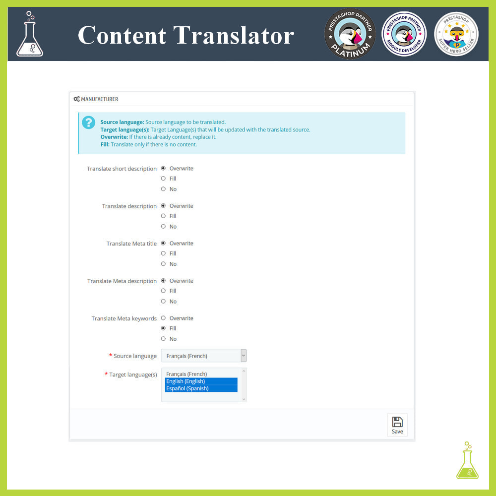 module - Internationalisierung & Lokalisierung - Advanced content translator - 7