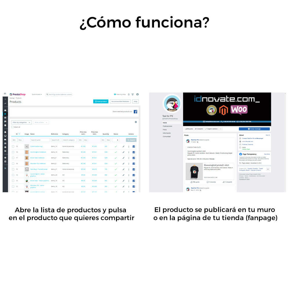module - Productos en Facebook & redes sociales - Comparte en Red Social desde el Backoffice - 5