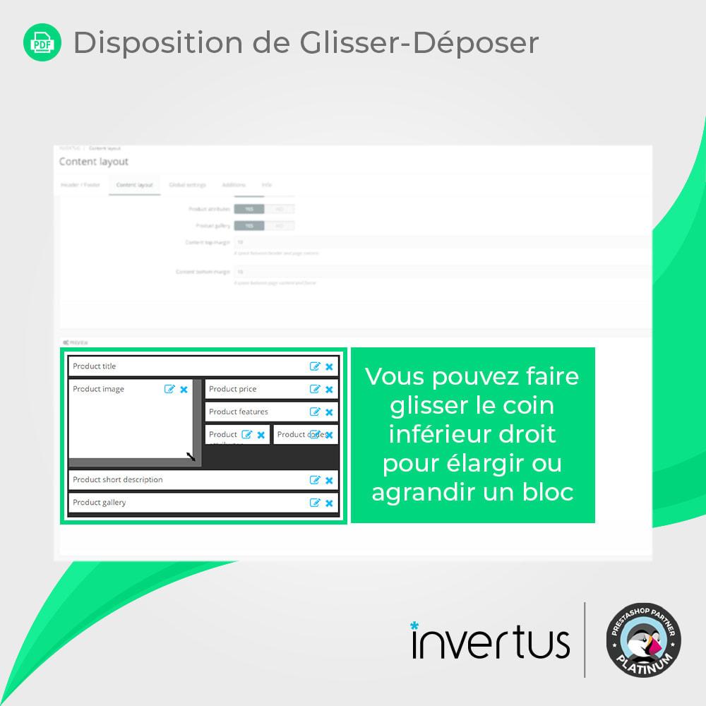 module - Information supplémentaire & Onglet produit - Produit au PDF format - voir, télécharger, imprimer - 6