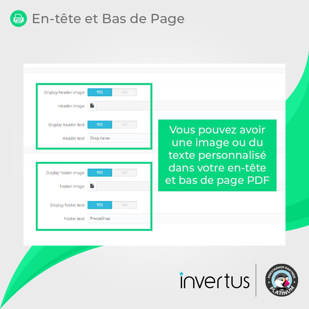 module - Information supplémentaire & Onglet produit - Produit au format PDF simple - 8