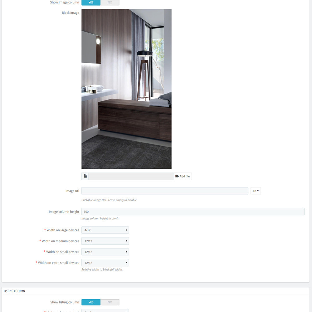 module - Products on Homepage - Custom product blocks and listings for homepage - 9