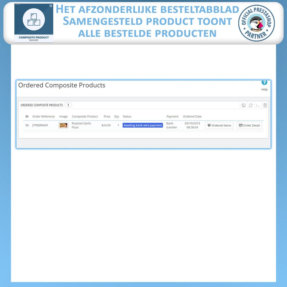 module - Kruisverkoop & Pakketaanbiedingen - Samengestelde Product Bouwer - 9