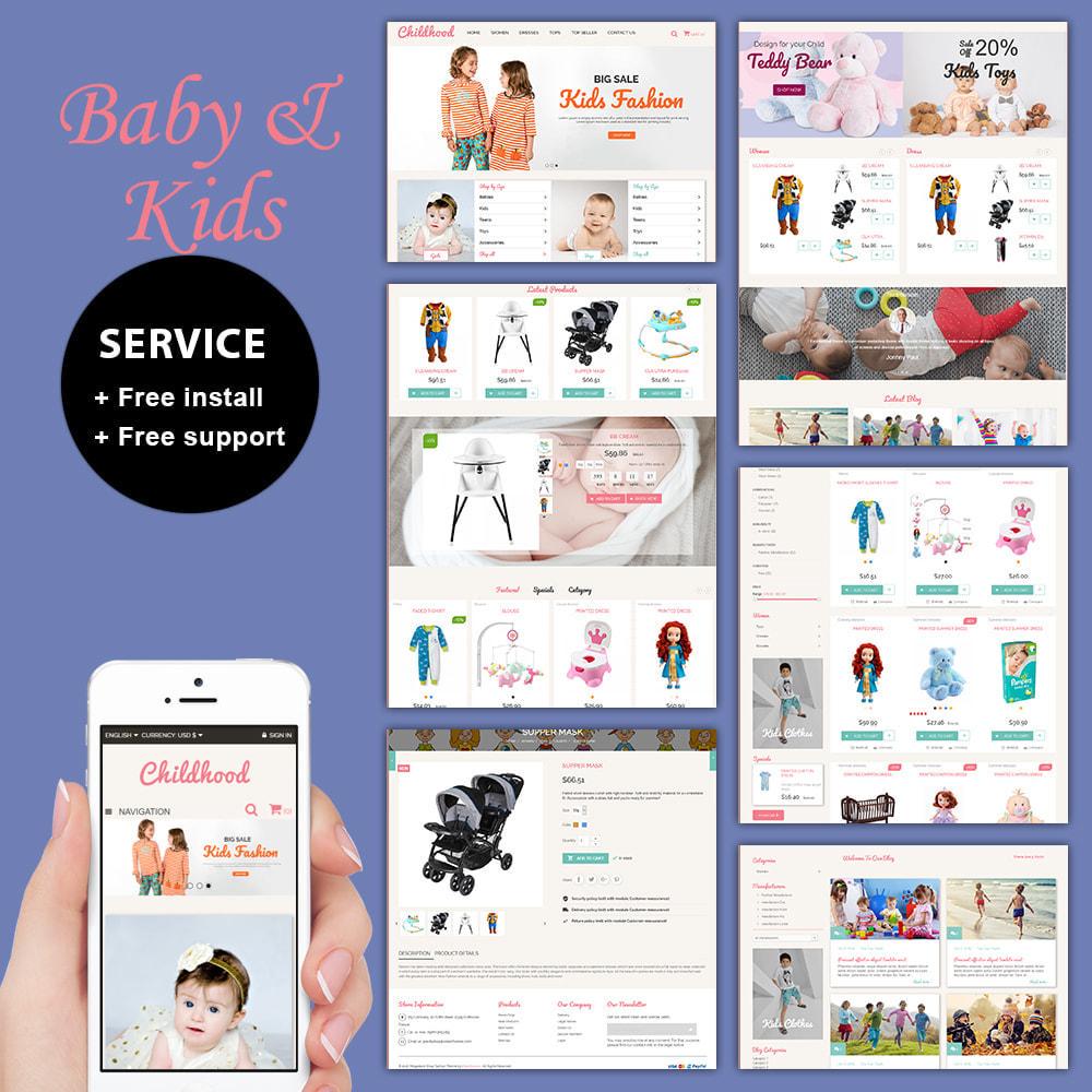theme - Crianças & Brinquedos - Baby Childhood - 1