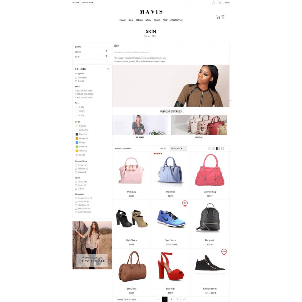 theme - Мода и обувь - Mavis Fashion Store - 5