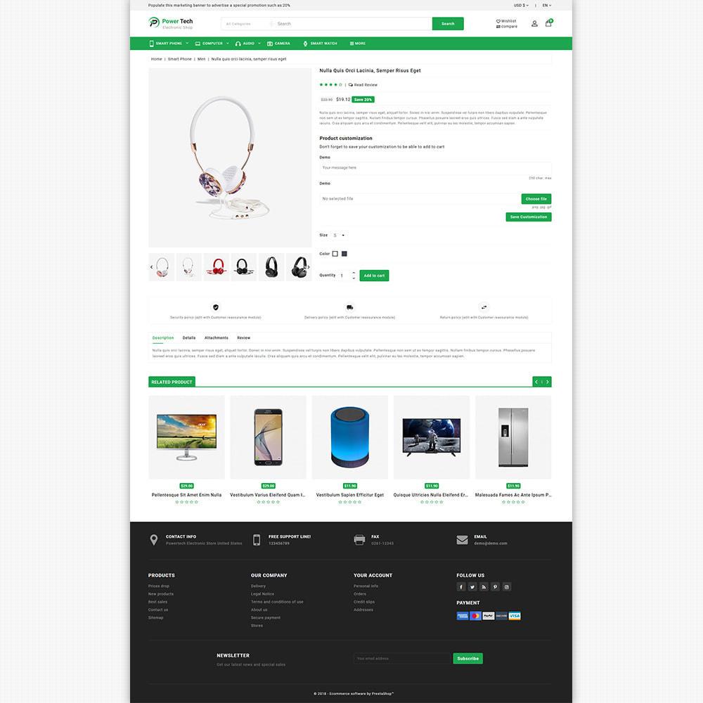 theme - Elektronika & High Tech - PowerTech - Hi-Tech Mega Super Store - 8