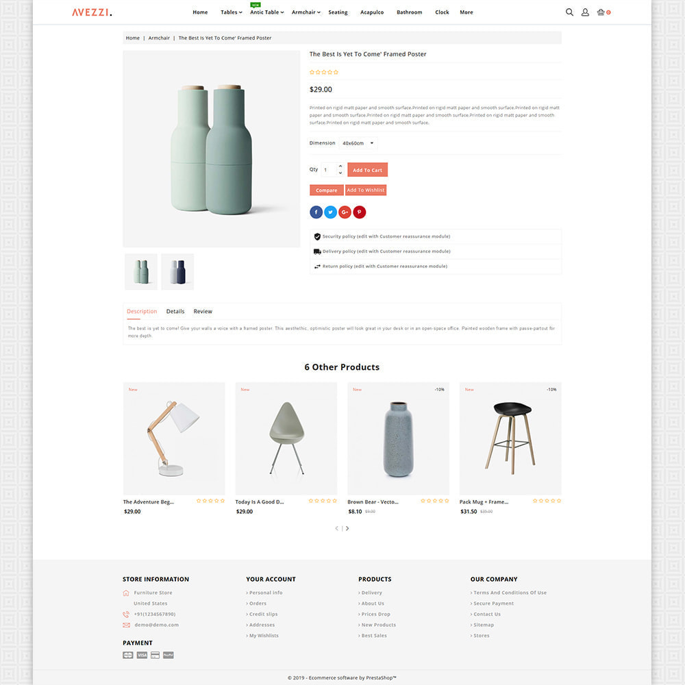 theme - Dom & Ogród - Avezzi - The Furniture Store - 6