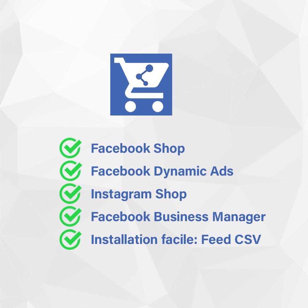 module - Produits sur Facebook & réseaux sociaux - Importateur de Catalogue sur Réseaux Sociaux Shop - 2