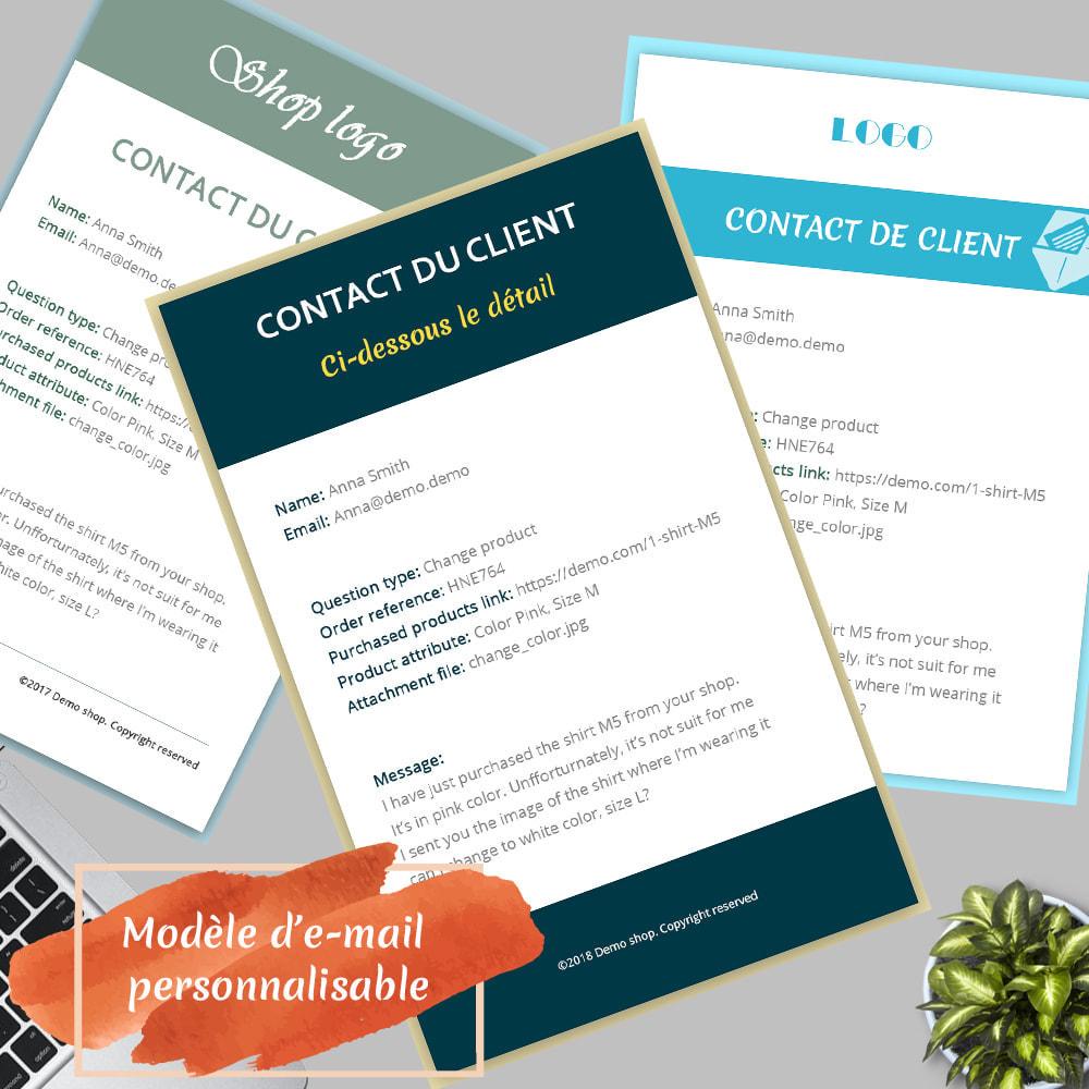 module - Formulaires de Contact & Sondages - Contact Form 7 – Générateur de formulaires de contact - 4