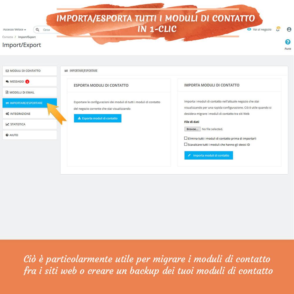 module - Form di contatto & Questionari - Contact Form 7 – Creatore di moduli contatto flessibili - 13