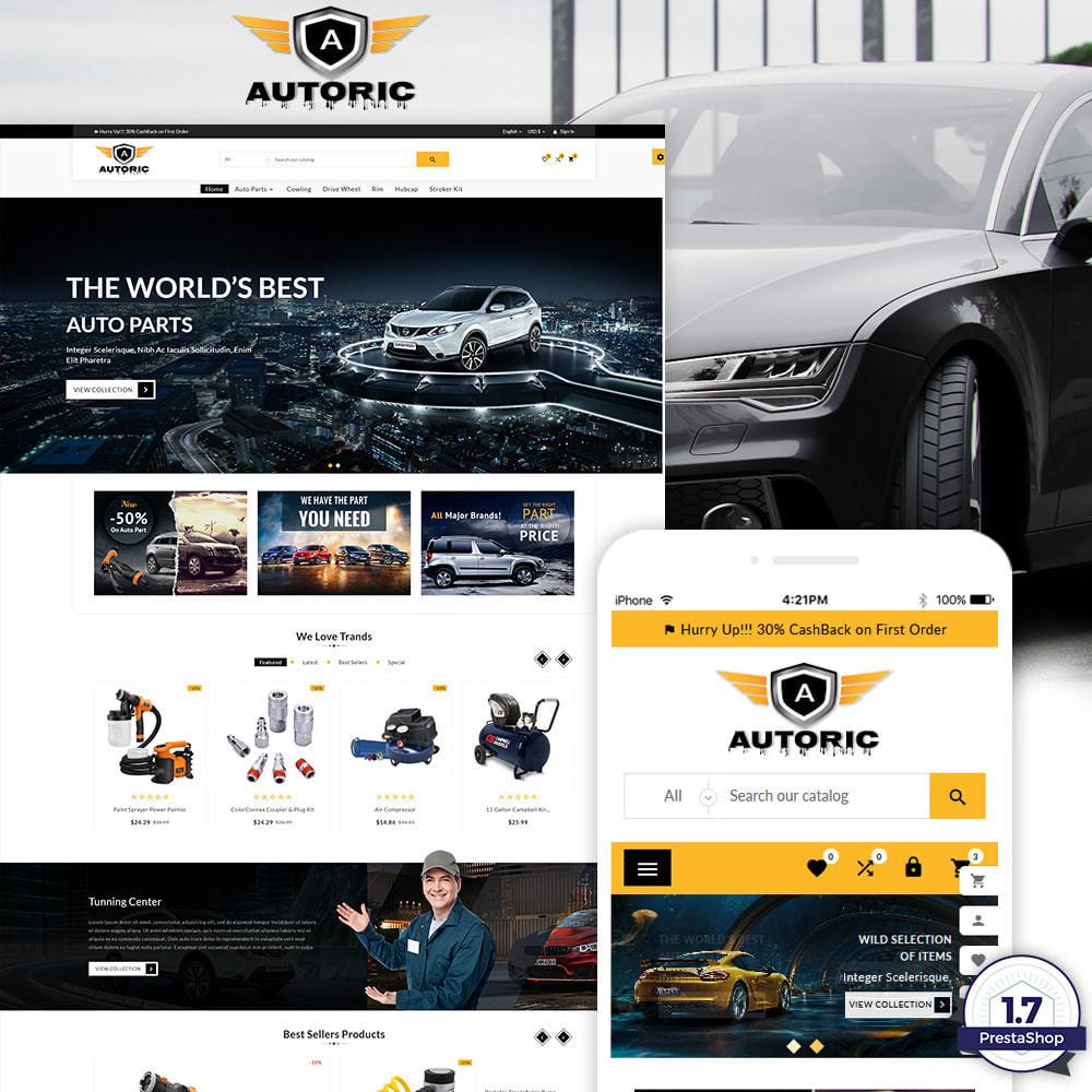 theme - Carros & Motos - Autoric – Autopart and Tools Super Store - 1