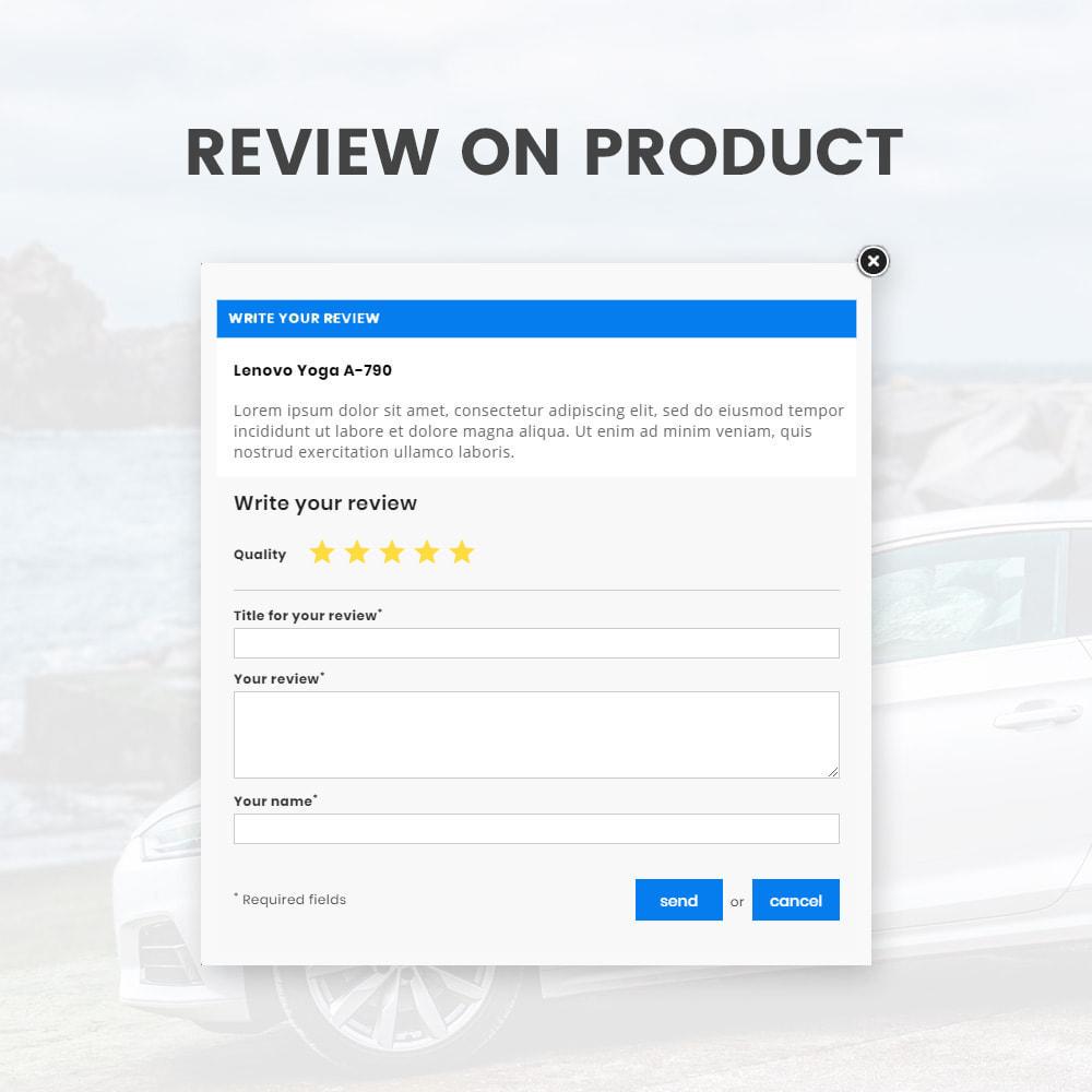 theme - Carros & Motos - Autoric – Autopart and Tools Super Store - 9