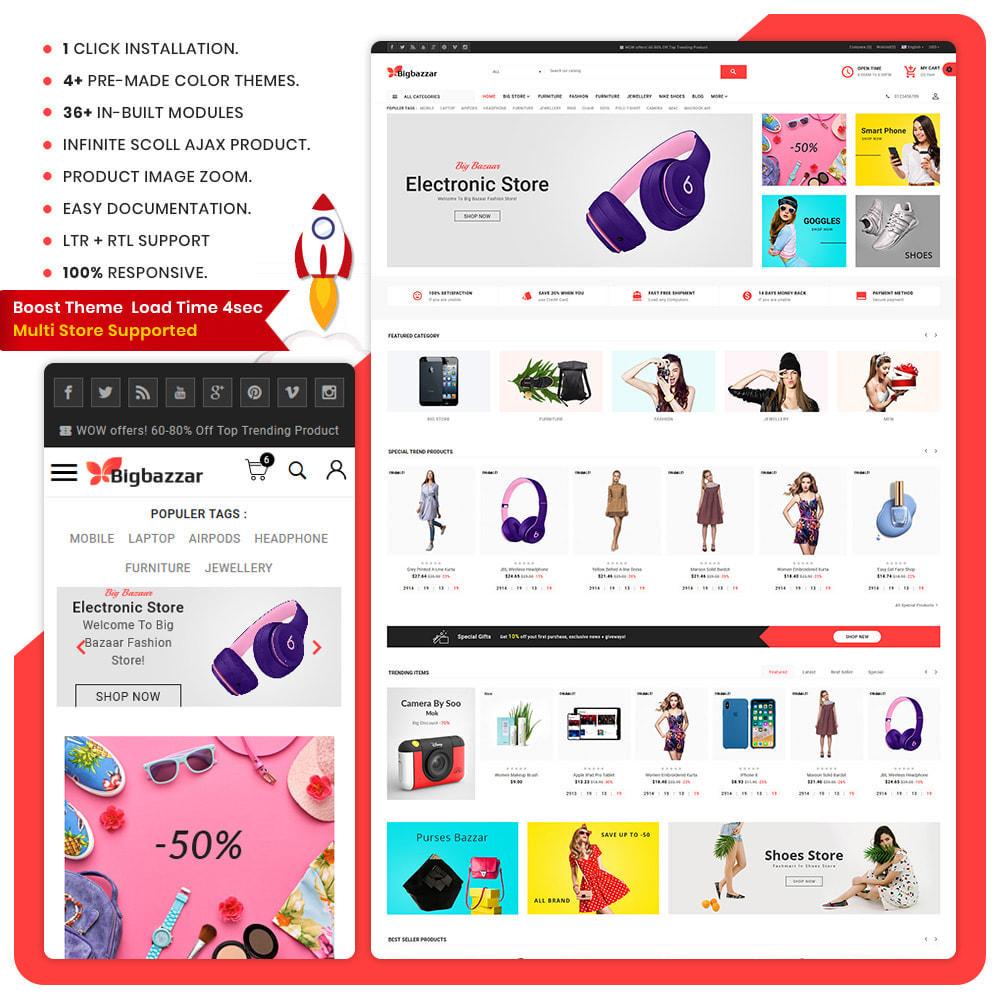 theme - Elektronika & High Tech - Big Bazzar – Electronic Boost Large Shop - 1