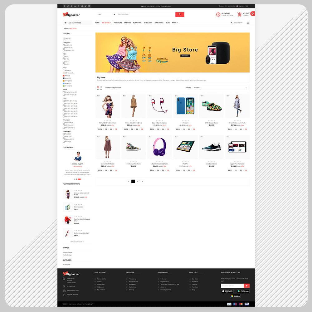 theme - Elektronika & High Tech - Big Bazzar – Electronic Boost Large Shop - 3