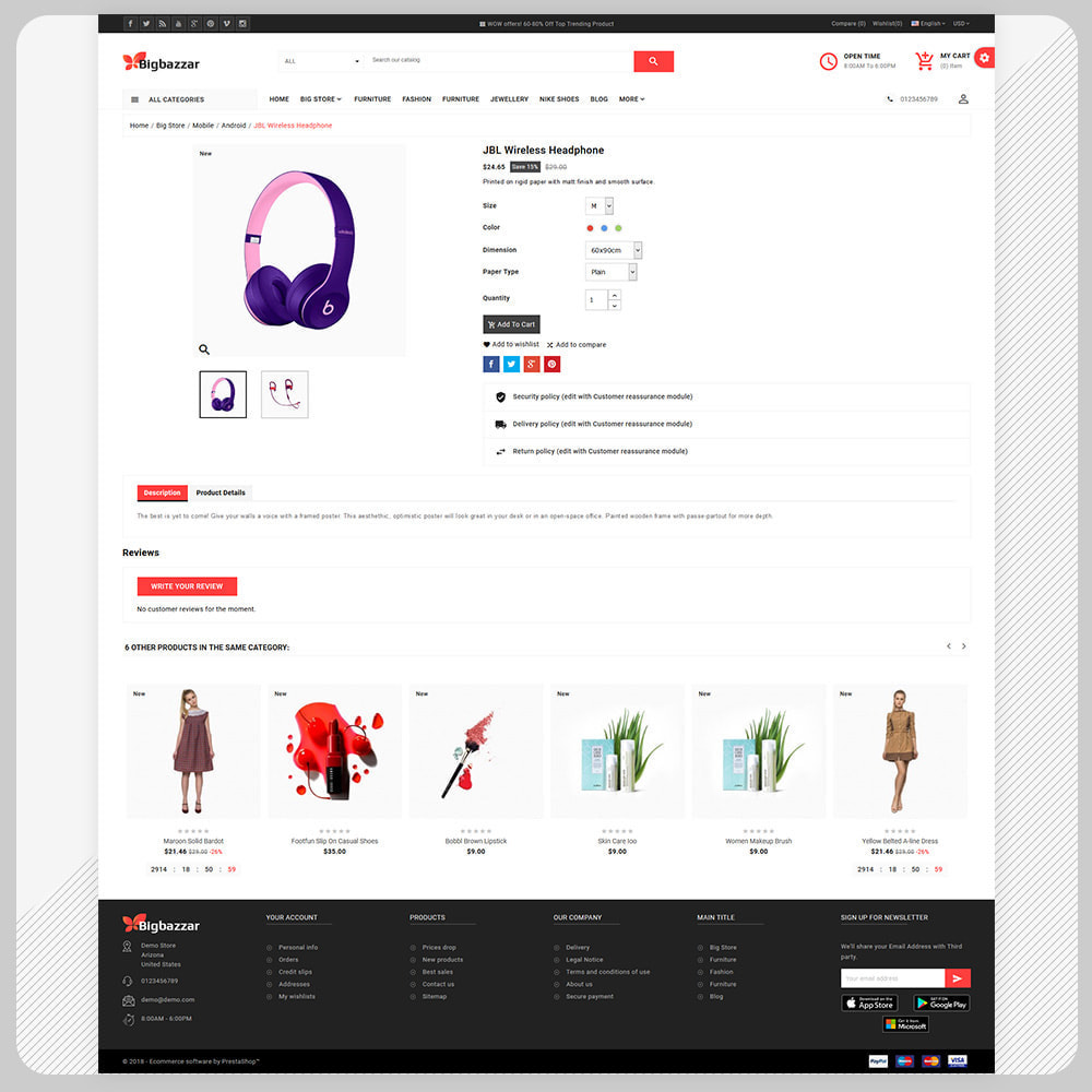 theme - Elektronika & High Tech - Big Bazzar – Electronic Boost Large Shop - 4