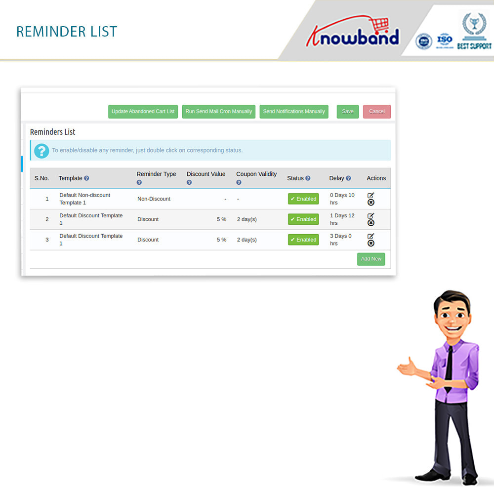 module - Remarketing & Warenkorbabbrüche - Erinnerer für stehengelassene Einkaufswagen(smart) - 11