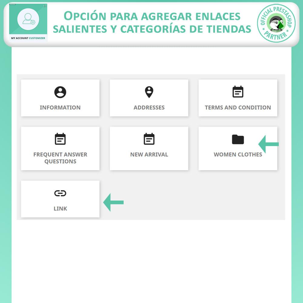 module - Herramientas Administrativas - Personalizador De Mi Cuenta - 4