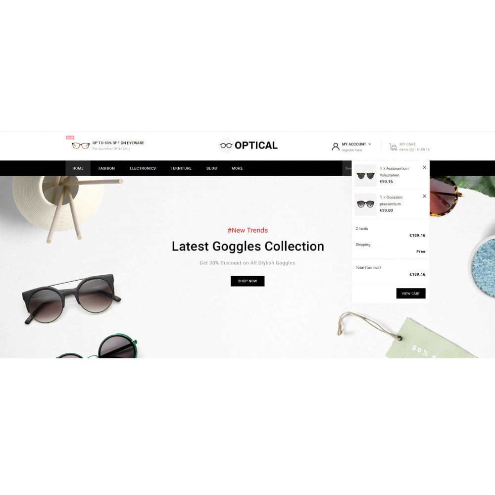 theme - Joalheria & Acessórios - Optical - Goggles Store - 8