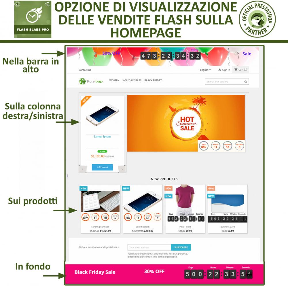 module - Flash & Private Sales - Vendite Flash con Timer di Conto alla Rovescia - 6