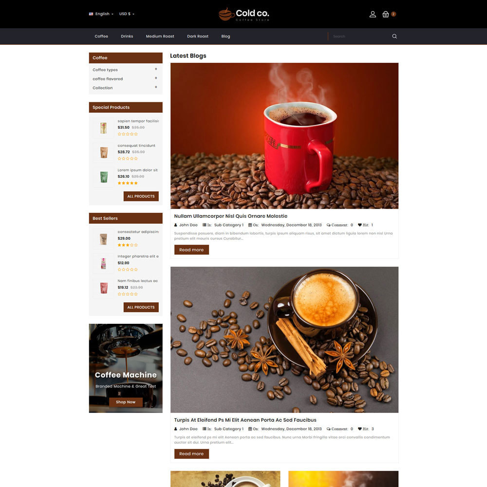 theme - Drink & Tobacco - Coldco coffee Shop - 8
