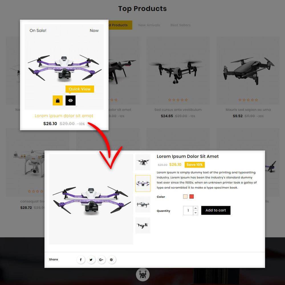 theme - Elektronica & High Tech - Captur Drone Shop - 8
